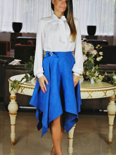 Royal plava suknja Župac