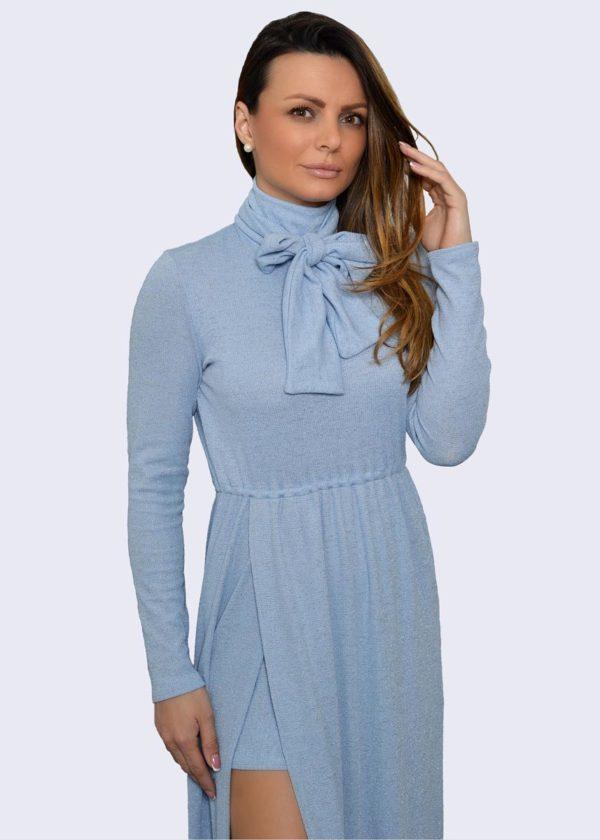 Ocean plava duga haljina Župac